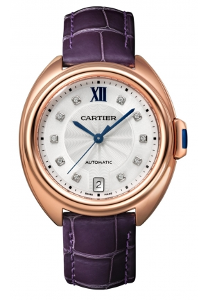 CLÉ DE CARTIER AUTOMATIC LADIES WATCH WJCL0032, 35MM