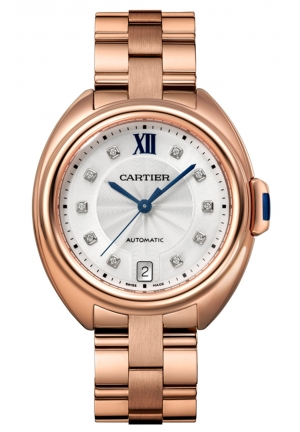 CLÉ DE CARTIER AUTOMATIC LADIES WATCH WJCL0033, 35MM