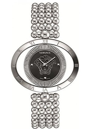Women's Bezel Stainless Steel Watch 40mm