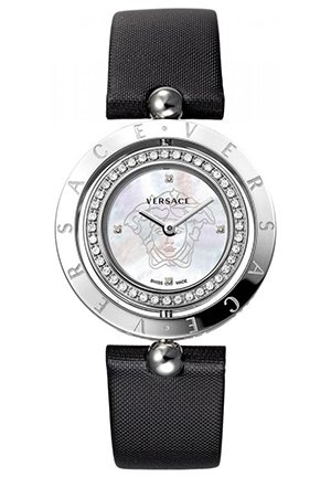 Women's Black Satin Watch 33.5mm