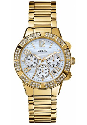 Women's Chronograph Gold Tone Stainless Steel Bracelet 40mm