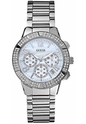 Women's Chronograph Stainless Steel Bracelet 40mm