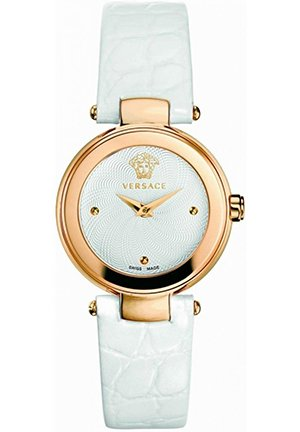 Women's Gold Ion-Plated Patent Leather Watch 26mm
