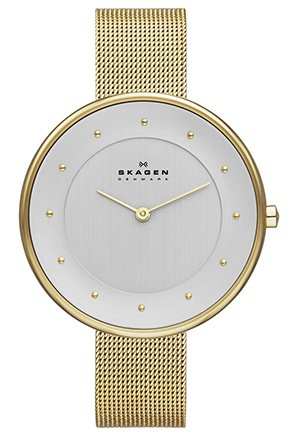 Women's Klassik Analog Display Analog Quartz Gold Watch 38mm