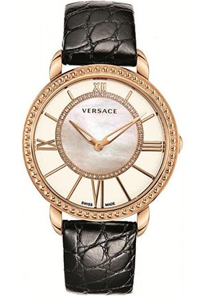 Women's Krios Rose Gold Crystal Diamond Watch 37mm