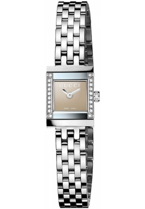 Women's Swiss Diamond (1/10 c.t. wt.) Stainless Steel Bracelet 18mm x 14mm