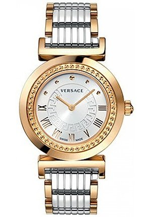 Women's Swiss Vanity Two-Tone Stainless Steel Bracelet 35mm
