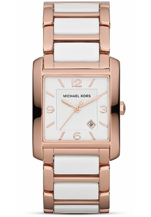 Women's White & Rose Gold, 30 mm