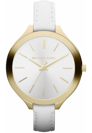 Women's White Leather Strap 42mm