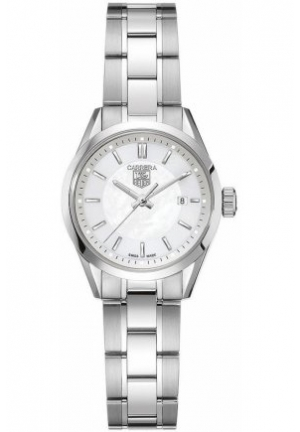 Women's Swiss Carrera Stainless Steel Bracelet 27mm WV1415.BA0793