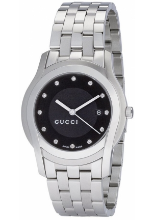 Men's G-Class Black Dial with Diamonds Watch  38mm