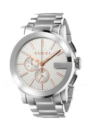 GUCCI G Chrono Extrab Large Stainless Steel Watch  44m