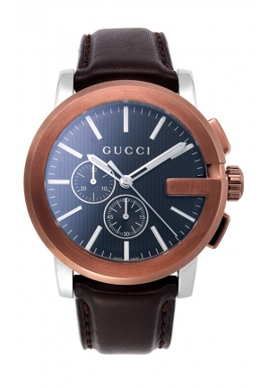GUCCI G-Chrono Extra Large Brown Watch  44mm