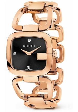 Gucci G Gucci 18K Pink Gold PVD Bracelet Watch,   32mm
