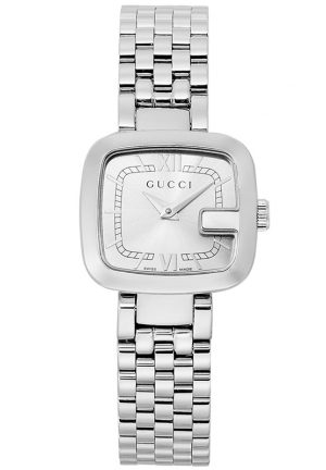 GUCCI Women's Swiss G-Gucci Stainless Steel Bracelet  24mm