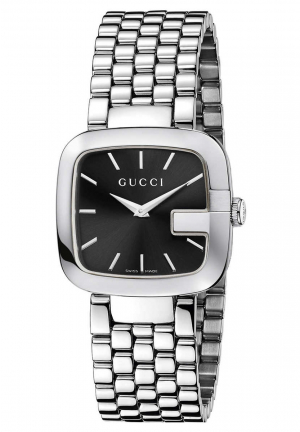 G-GUCCI STAINLESS STEEL BRACELET LADIES WATCH 32X 30MM