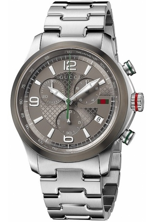 Gucci - G-Timeless Chronograph Stainless Steel Watch 44mm