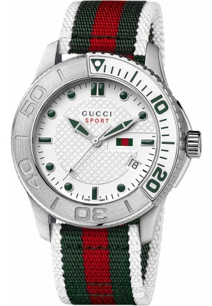 Gucci Watch, Men's Swiss Sport Strap 44mm
