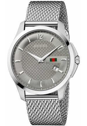 Gucci - G-Timeless Stainless Steel Mesh Watch 40mm