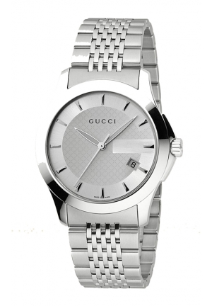 "GUCCI G-Timeless"" Stainless Steel Bracelet Watch  38mm"