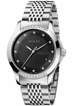 Gucci 'G Timeless' Diamond Bracelet Watch 38mm