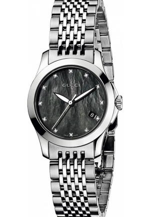 Gucci 'G Timeless' Diamond Dial Bracelet Watch 27mm