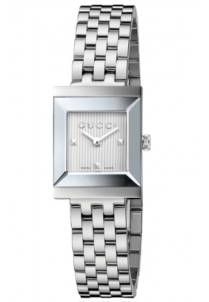 GUCCI G-Frame Stainless Steel Bracelet Watch  24mm