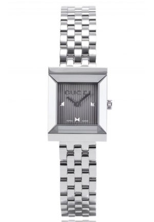GUCCI Swiss G-Frame Stainless Steel Bracelet 19mm