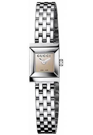 Gucci Watch, Women's Swiss Stainless Steel Bracelet 18x14mm