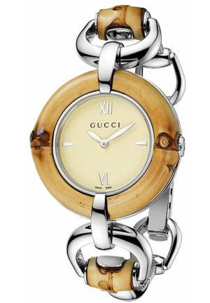 Gucci - Bamboo Stainless Steel Bangle Watch Jewelry 35mm