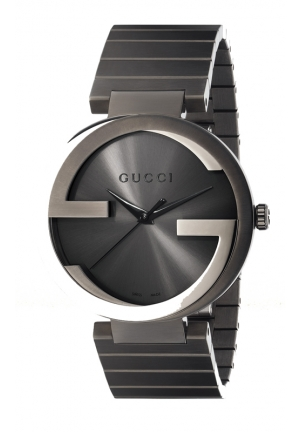 GUCCI Interlocking Collection Extra-Large Grey Watch 42mm