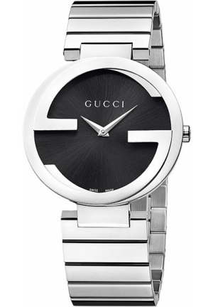 Gucci - Interlocking Stainless Steel Watch Jewelry  37mm
