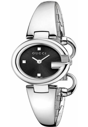 Gucci - Guccissima Stainless Steel Bangle Watch Jewelry   27 x 24 mm