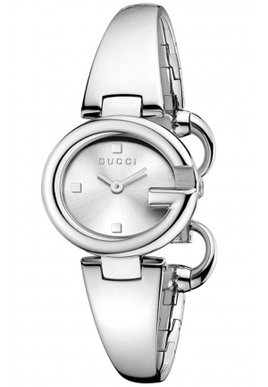 GUCCISSIMA STAINLESS STEEL BANGLE WATCH