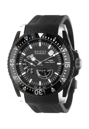 GUCCI Dive Black Watch  45mm