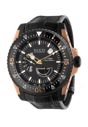 GUCCI Numbered Limited Edition gucci dive watch in pink gold  45mm