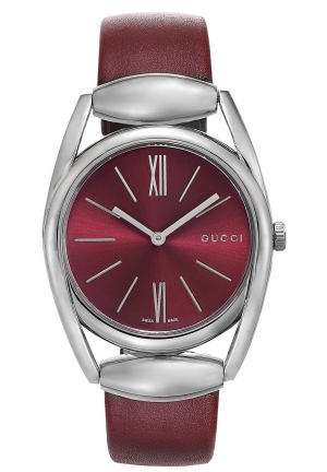 GUCCI Gucci Horsebit Collection Analog Display Swiss Quartz Silver Watch  34mm