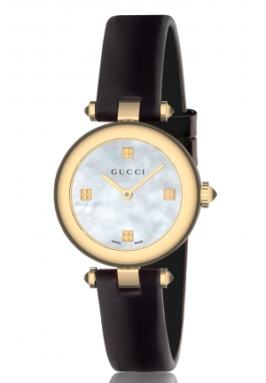DIAMANTISSIMA STAINLESS STEEL MOTHER-OF-PEARL DIAL LADIES WATCH , 27MM