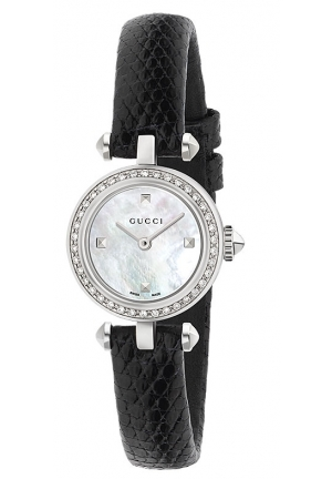 DIAMANTISSIMA SMALL WHITE MOTHER OF PEARL DIAL LADIES WATCH , 22MM