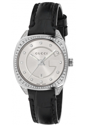 GG2570 SILVER DIAMONDS LADIES WATCH 29MM