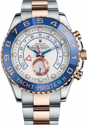 YACHT-MASTER IIOyster steel and Everose gold , 44 mm
