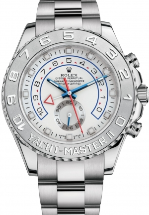 YACHT-MASTER IIOyster, white gold and platinum, 44 mm