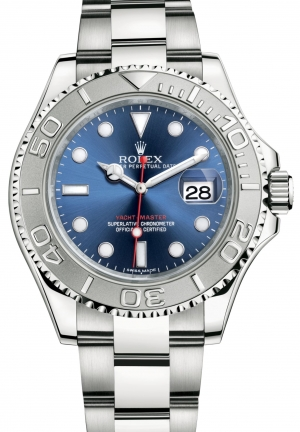 YACHT-MASTER Oyster steel and platinum , 40 mm