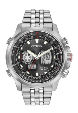 Citizen Analog-Digital Black Dial Men's Watch